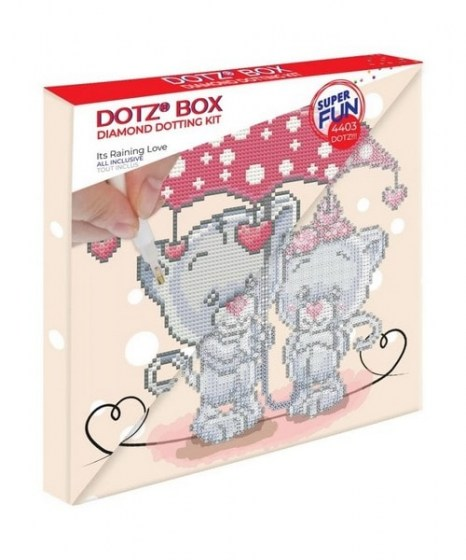 Diamond Dotz box Its raining love