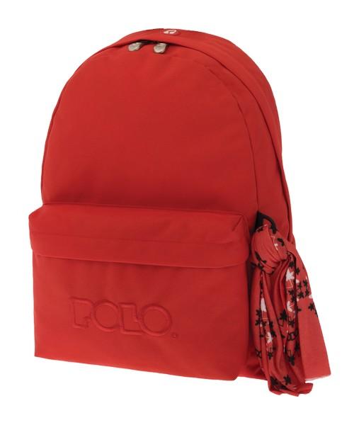 d889563bea ΣΧΟΛΙΚΑ ΕΙΔΗ   Σακίδιο Original POLO Bag Πορτοκαλί (1+1 θέσεις)